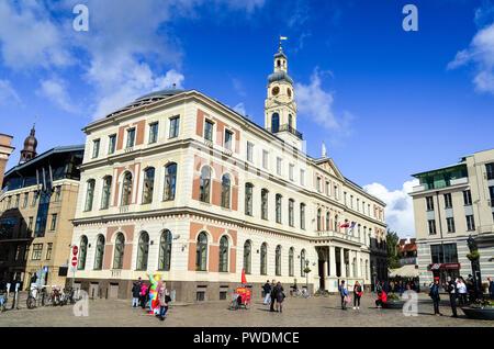 Riga Dome (city hall), Riga, Latvia - Stock Image