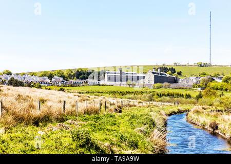 Princetown prison, Dartmoor national park, HM Prison Dartmoor, Category C men's prison, Dartmoor, HMP Dartmoor, Devon, prison, prisons, UK, Dartmoor, - Stock Image