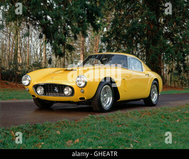 1960 Ferrari 250GT SWB competitzione 3.0 litre V12 Type 168 engine 280 bhp top speed 167 mph. Country of origin - Stock Image