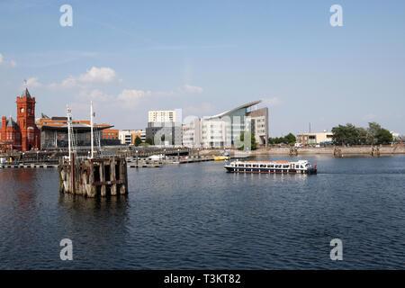 Cardiff bay Wales UK - Stock Image