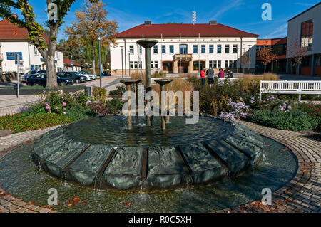 Town Hall in Bad Driburg NRW, Germany - Stock Image