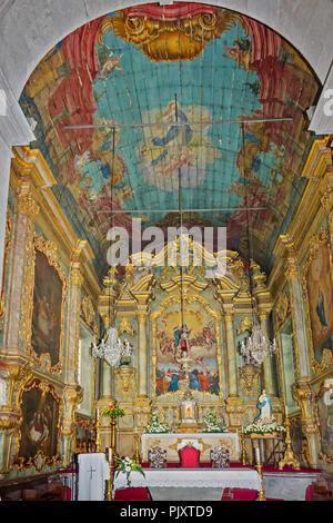 Church Of Nossa Senhora Do Monte Madeira Portugal - Stock Image