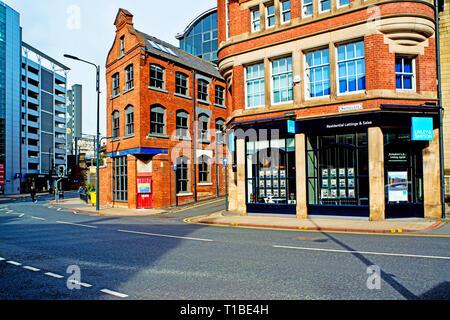Blayds Yard and Swinegate, Leeds, England - Stock Image