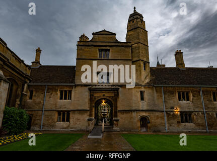 Gonville and Caius college in Cambridge (England) - Stock Image