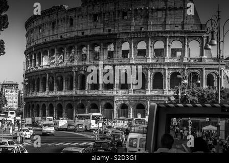 Colliseum in Rome - Stock Image