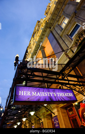 Her Majesty's Theatre. London. UK 2009 - Stock Image