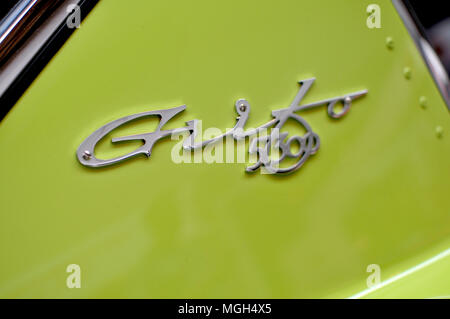 Bizzarini 5300 GT details pictures - Stock Image