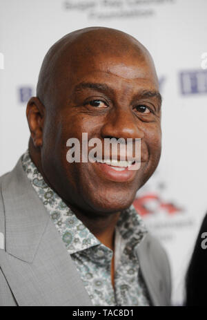 Beverly Hills, USA. 22nd May, 2019. Earvin 'Magic' Johnson Jr. attends Sugar Ray Leonard Foundation's 10th Annual 'Big Fighters, Big Cause' Charity Boxing Night at The Beverly Hilton Hotel on May 22, 2019 in Beverly Hills, California. Credit: The Photo Access/Alamy Live News - Stock Image