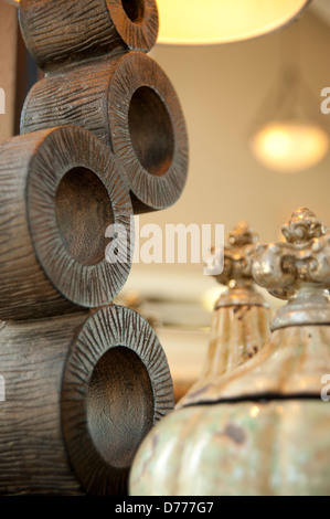 Home Décor Macro lamp stand - Stock Image