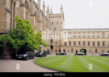 Oxford university in Oxfordshire England UK - Stock Image