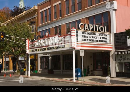 Theatre Marquis Pittsfield, Massachusetts - Stock Image