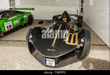 Turin, Piedmont, Italy. 22nd June 2019.Italy Piedmont Turin Valentino park Auto Show 2019 - Credit: Realy Easy Star/Alamy Live News - Stock Image