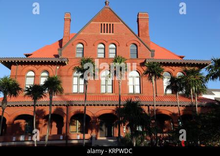 Custom House, Key West, FL, USA - Stock Image
