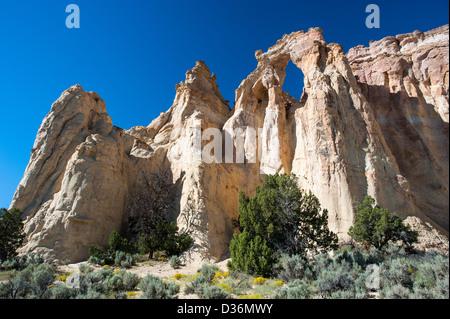 Grosvenor Arch, Grand Staircase National Monument, Utah, USA - Stock Image