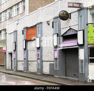 The Shed live music venue in Leicester, UK. - Stock Image