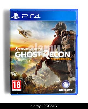 PS4 video game Tom Clancys Ghost Recon wildlands - Stock Image