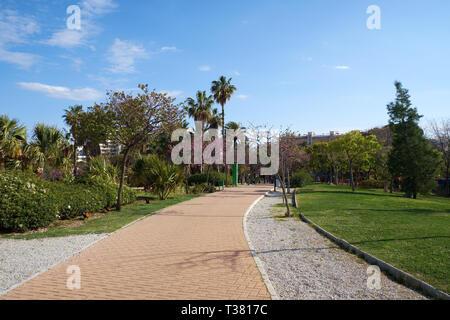 Parque de La Paloma. Benalmádena, Málaga, Spain. - Stock Image