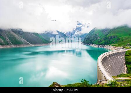Hydro power station in Kaprun, Salzburgerland, Austria - Stock Image
