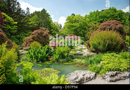 Early Summer at Sizergh Gardens - Stock Image