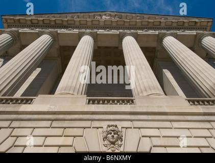 Washington DC USA - Majestic urban skyline - Stock Image