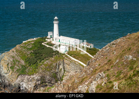 South Stack Lighthouse Anglesey - Stock Image