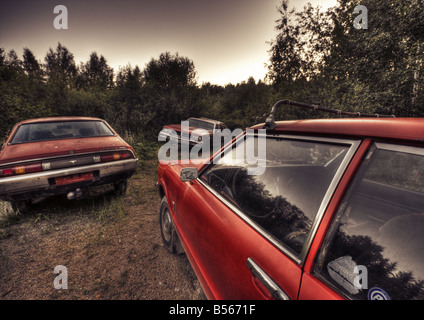 Old cars - Stock Image