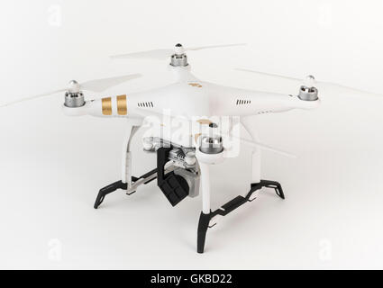 DJI Phantom 3 Pro in studio - Stock Image