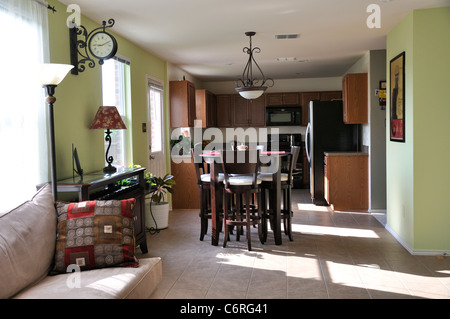 House interior, USA - Stock Image