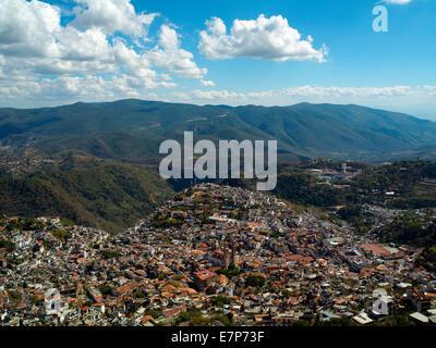 Panorama of Taxco, - Stock Image