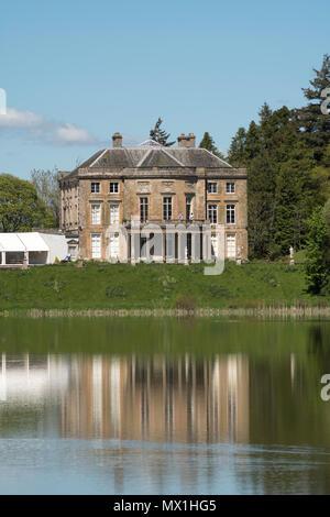 The Haining, palladian mansion, Selkirk, Scotland, UK - Stock Image