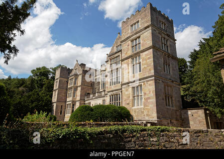 Fountains Hall, Fountains Abbey, North Yorkshire, a UNESCO World Heritage Site – well-preserved ruins of a Cistercian Monastery - Stock Image