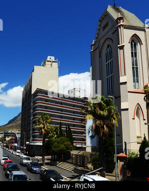 Cape Town's city center. - Stock Image