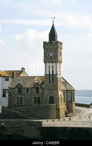 The Church, Porthleven, Cornwall, UK. - Stock Image