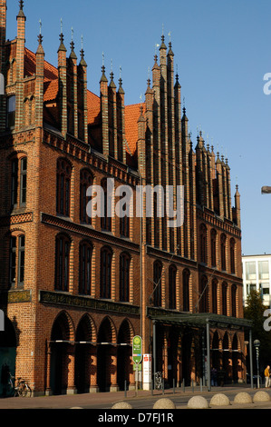 Germany, Hannover, Old Town, altes Rathaus - Stock Image
