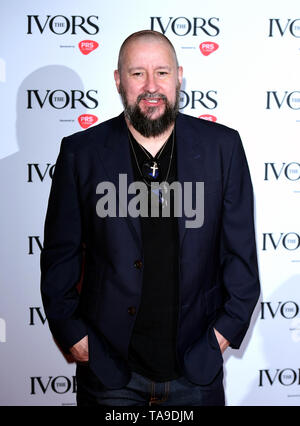 Clint Mansell during the Annual Ivor Novello Songwriting Awards at Grosvenor House in London. - Stock Image
