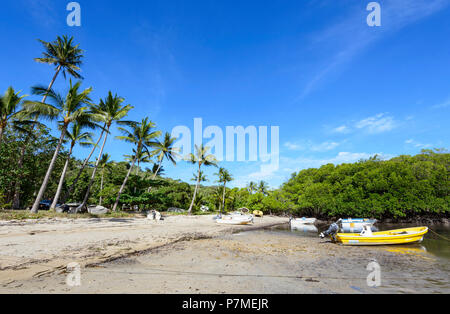 Small port of Portland Roads, Cape York Peninsula, Far North Queensland, FNQ, QLD, Australia - Stock Image
