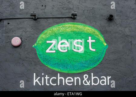 Zest Kitchen and Bar - Salt Lake City, Utah - Stock Image