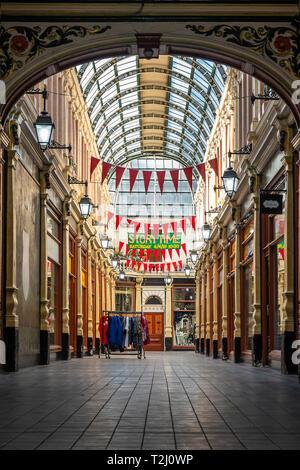 Hepworths Arcade,Silver Street,Kingston upon Hull,England - Stock Image