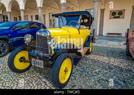 Piedmont Turin - Turin auto show 2019  - Valentino park - Valentino castle - - Stock Image