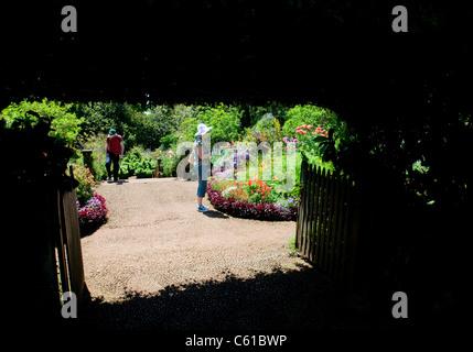Palheiro Gardens, located in the Palheiro Estate on Madeira Island. - Stock Image