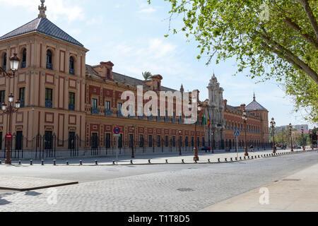 Palacio de San Telmo, Seville, Spain - Stock Image