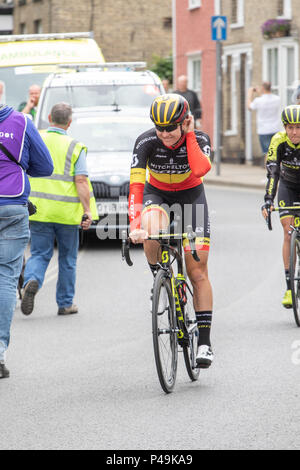 Jolien D'Hoore Belgian national road race champion - Stock Image