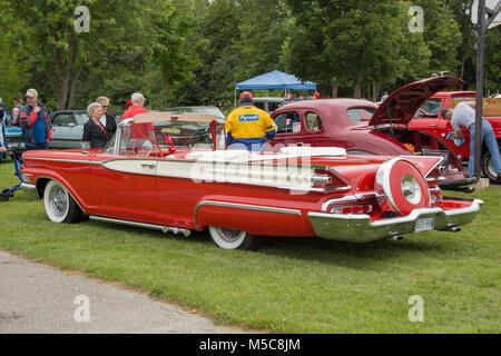 Mercury Monterey Classic Antique Car - Stock Image
