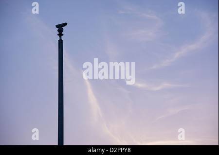 CCTV traffic monitoring camera - Stock Image