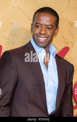 London, UK. 10th Dec 2018. Adrian Lester at Mary Queen Of Scots European Premiere on Monday 10 December 2018 held at Cineworld Leicester Square, London. Pictured: Adrian Lester. Credit: Julie Edwards/Alamy Live News - Stock Image