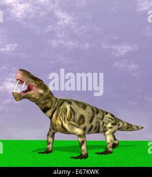 Dinosaurier Inostrancevia / dinosaur Inostrancevia - Stock Image