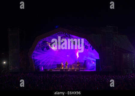 Southsea, Hampshire, UK. 24th August, 2014. Victorious Festival - Sunday, Southsea, Hampshire, England.  A general - Stock Image