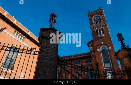 The Usina del Arte is a cultural center and showroom that occupies the building of the old Italo Argentina Power Plant in the neighborhood of La Boca. - Stock Image