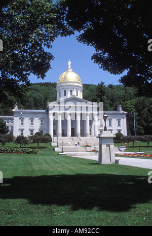 Vermont State Capital Montpelier Vermont - Stock Image