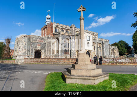 st marys church england, east, bergholt, anglia, , suffolk, historic, architectural, architecture, - Stock Image